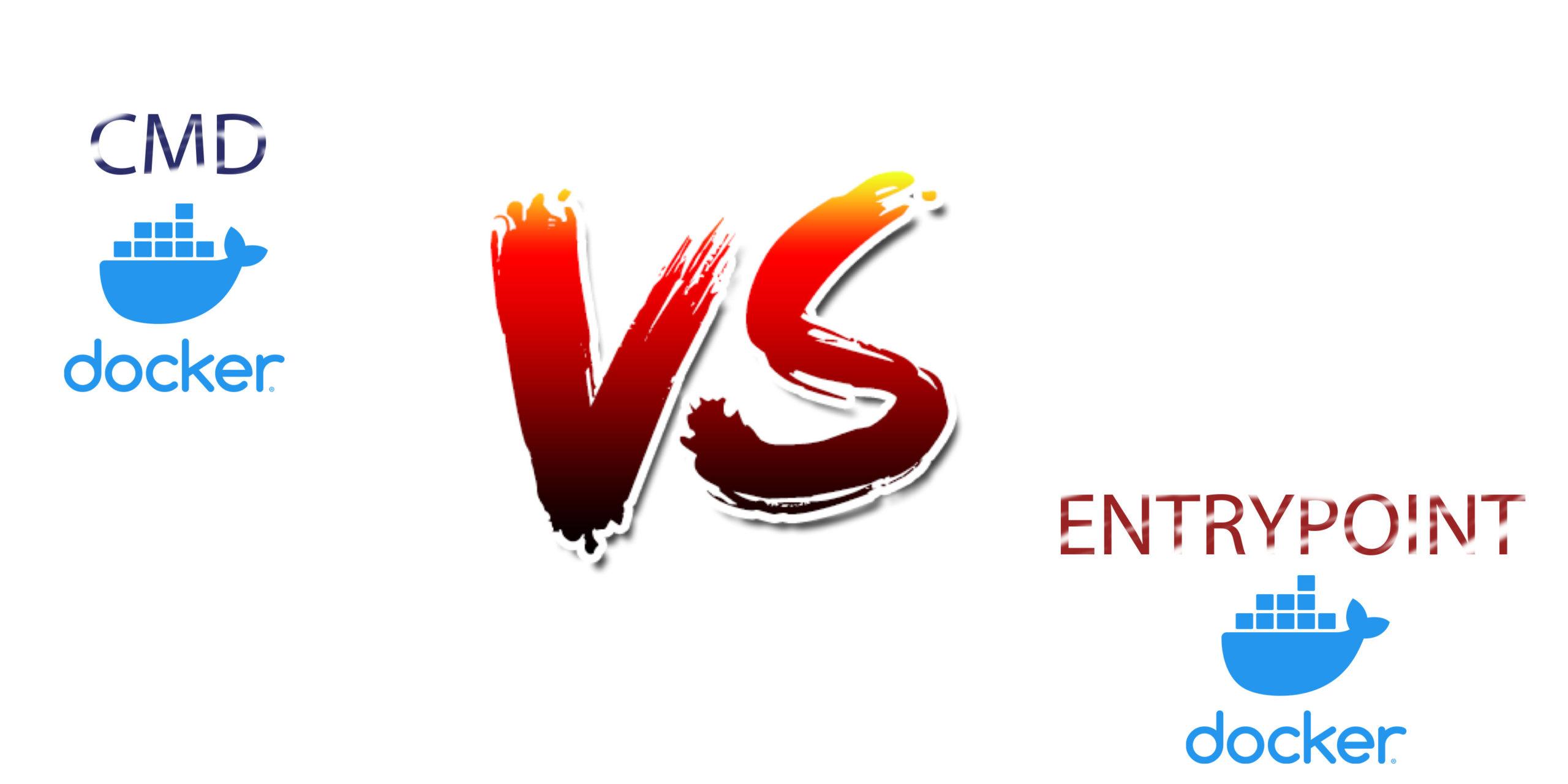 cmd vs entrypoint